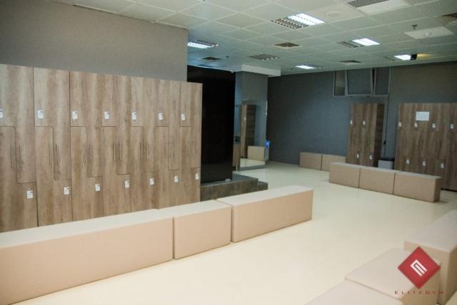 EliteGym Braila Loker Room